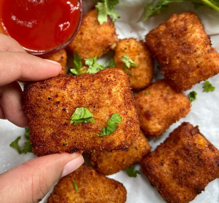 How to make corns cheese nugget